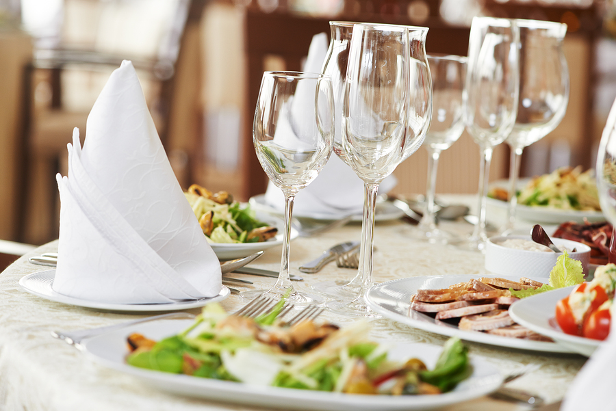 Creating a catering menu at Olivia Restaurant