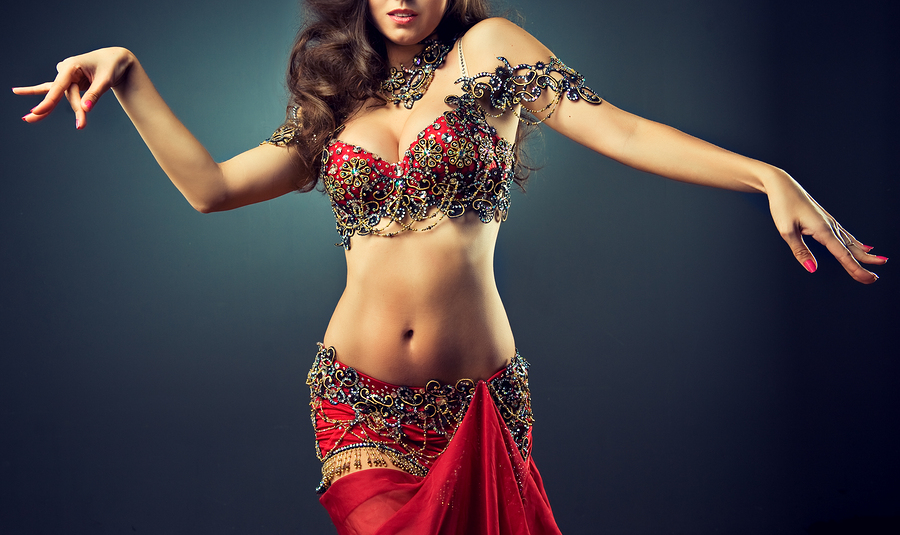 Hire a Belly Dancer at Olivia Restaurant
