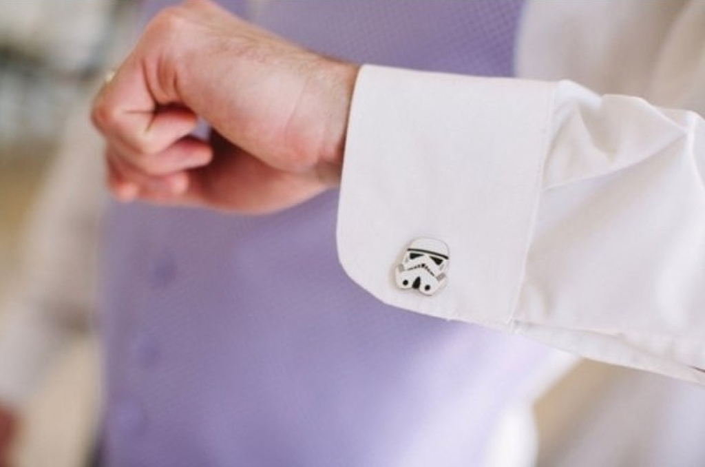 Storm Trooper cufflinks