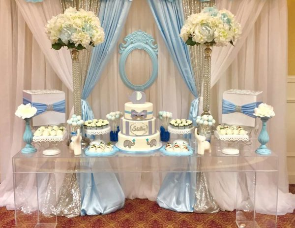Baby Shower Head Table