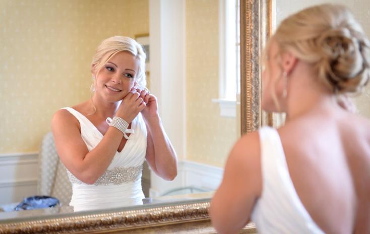 Last Minute Wedding Details - Getting Ready
