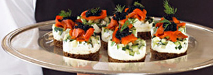 Olivia Event Venue - Dining - Hors D'Oeuvres