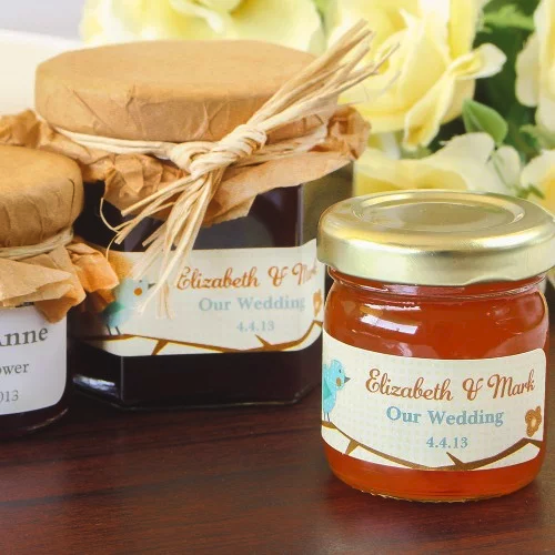 personalized jam - wedding favors