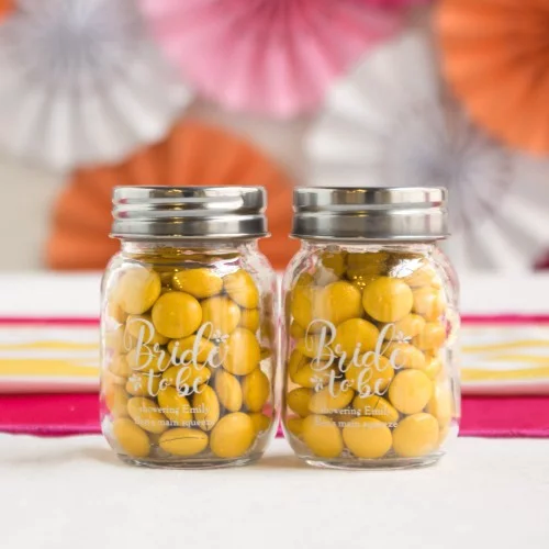 Mason Jar - wedding favors
