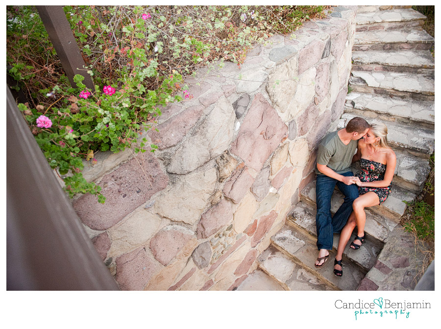 Adamson House - engagement photo